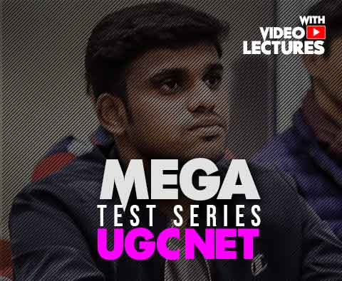 Mega Test Series for UGCNET