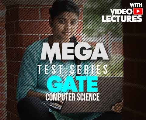 Mega Test Series for GATE Computer Science