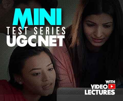 Mini Test Series for UGCNET