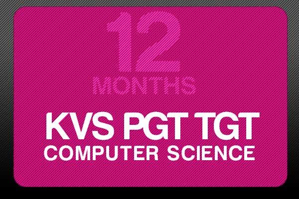 Study Online for KVS PGT TGT 12 Months