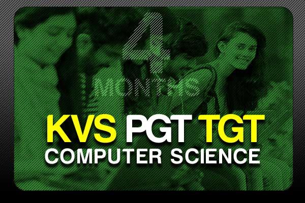 Study Online for KVS PGT TGT 4 Months