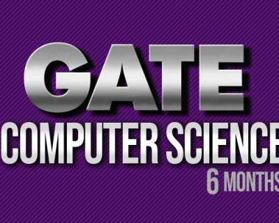 GATE Computer Science (6 months)