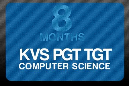 KVS PGT TGT Computer Science (8 Months)
