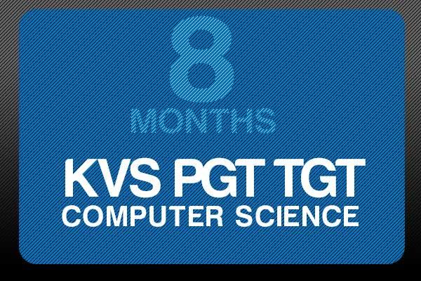 Study Online for KVS PGT TGT 8 Months