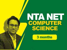 NTA NET Computer Science (3 months)