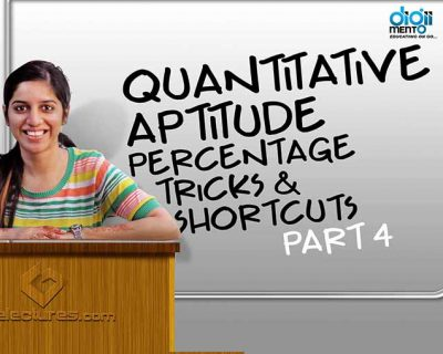 Quantitative Aptitude & English