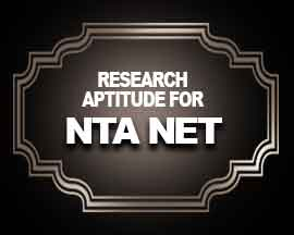 Research Aptitude for NTA NET