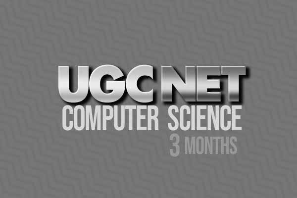 UGC NET CS 3 Months Video Tutorial