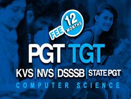DSSSB / NVS / KVS PGT TGT Computer Science (12 Months)