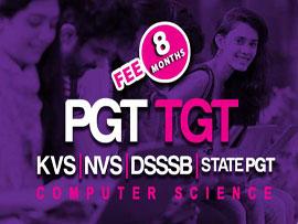 DSSSB / NVS / KVS PGT TGT Computer Science (8 Months)