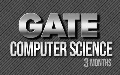 GATE Computer Science (3 months)