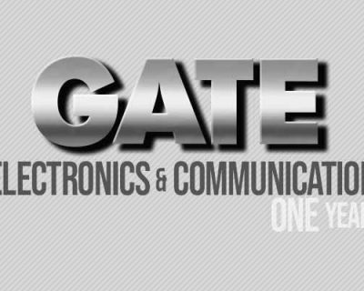 GATE Electronics & Comm. (1 Year)