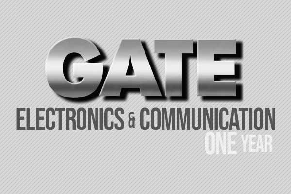 GATE Electronic & Communication 1 Year – DigiiMento