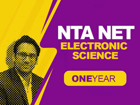 NTA NET Electronic Science (1 Year)
