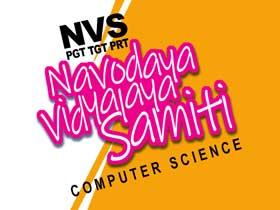 NVS PGT TGT PRT Computer Science