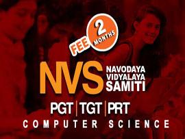 NVS PGT TGT PRT Computer Science (2 Months)