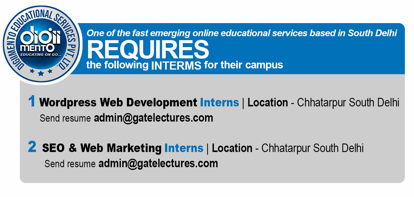 Job for Intern at DigiiMento