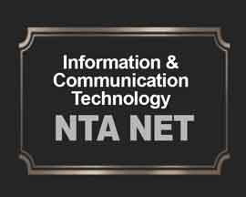 Information & Communication Technology (ICT) for NTA NET
