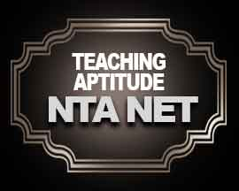 Teaching Aptitude for NTA NET