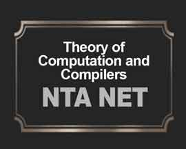 Theory of Computation & Compilers for NTA NET