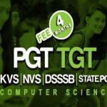 DSSSB / NVS / KVS PGT TGT Computer Science (4 Months)