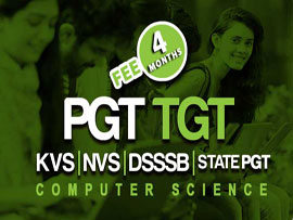 PGT TGT Computer Science Preparation 4 Months